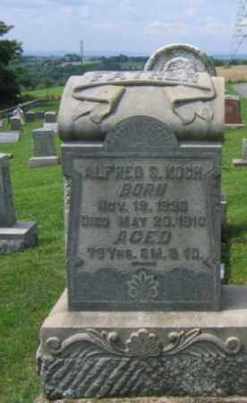 KOCH (CW), ALFRED S. - Berks County, Pennsylvania | ALFRED S. KOCH (CW) - Pennsylvania Gravestone Photos