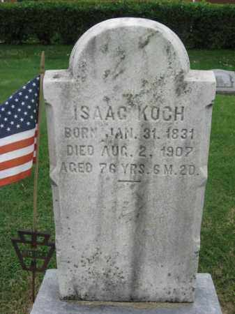 KOCH (CW), ISAAC - Berks County, Pennsylvania | ISAAC KOCH (CW) - Pennsylvania Gravestone Photos