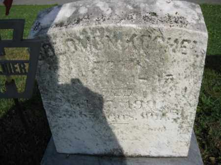 KOCHER, SOLOMON - Berks County, Pennsylvania | SOLOMON KOCHER - Pennsylvania Gravestone Photos
