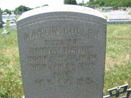 KOLLER  (CW), MARTIN - Berks County, Pennsylvania | MARTIN KOLLER  (CW) - Pennsylvania Gravestone Photos