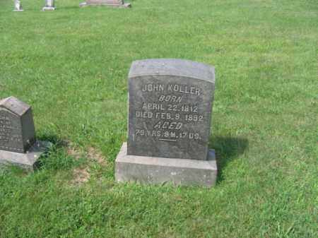 KOLLER, JOHN - Berks County, Pennsylvania | JOHN KOLLER - Pennsylvania Gravestone Photos
