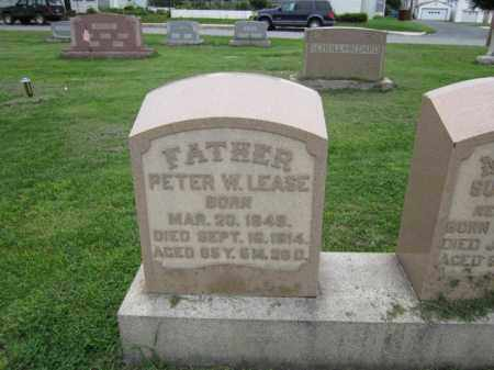 LEASE, PETER - Berks County, Pennsylvania   PETER LEASE - Pennsylvania Gravestone Photos