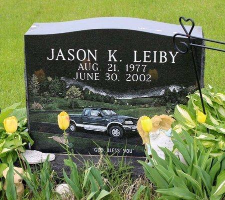 LEIBY, JASON K. - Berks County, Pennsylvania | JASON K. LEIBY - Pennsylvania Gravestone Photos