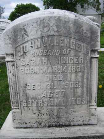 LENGEL (LENGLE) (CW), JOHN W. - Berks County, Pennsylvania | JOHN W. LENGEL (LENGLE) (CW) - Pennsylvania Gravestone Photos