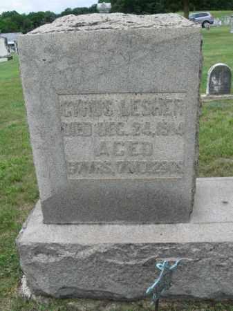 LESHER (CW), CYRUS - Berks County, Pennsylvania | CYRUS LESHER (CW) - Pennsylvania Gravestone Photos