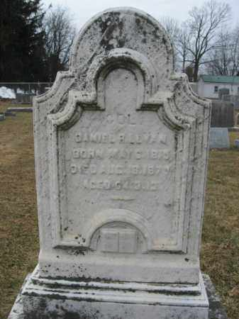 LEVAN (MW), COL.DANIEL R. - Berks County, Pennsylvania | COL.DANIEL R. LEVAN (MW) - Pennsylvania Gravestone Photos