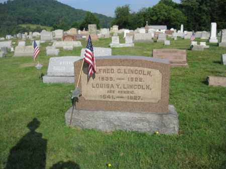 LINCOLN (CW), ALFRED G. - Berks County, Pennsylvania | ALFRED G. LINCOLN (CW) - Pennsylvania Gravestone Photos