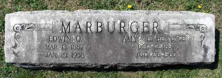 MARBURGER, EDWIN O. - Berks County, Pennsylvania | EDWIN O. MARBURGER - Pennsylvania Gravestone Photos
