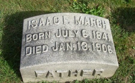 MARCH (CW), ISAAC F. - Berks County, Pennsylvania | ISAAC F. MARCH (CW) - Pennsylvania Gravestone Photos