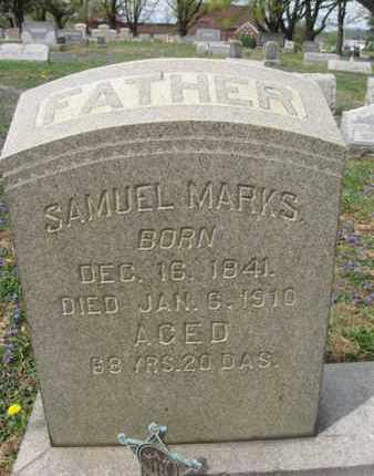 MARKS (CW), SAMUEL - Berks County, Pennsylvania | SAMUEL MARKS (CW) - Pennsylvania Gravestone Photos