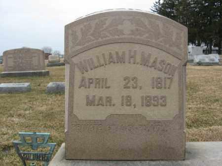 MASON (CW), PVT.WILLIAM H. - Berks County, Pennsylvania   PVT.WILLIAM H. MASON (CW) - Pennsylvania Gravestone Photos