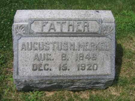 MERKEL, AUGUSTUS H. - Berks County, Pennsylvania   AUGUSTUS H. MERKEL - Pennsylvania Gravestone Photos