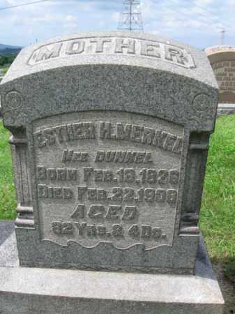 MERKEL, ESTHER H. - Berks County, Pennsylvania | ESTHER H. MERKEL - Pennsylvania Gravestone Photos