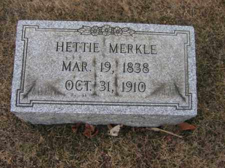 MERKLE, HETTIE - Berks County, Pennsylvania | HETTIE MERKLE - Pennsylvania Gravestone Photos