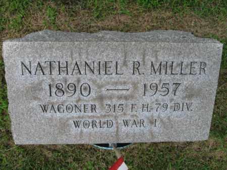 MILLER (WW I), NATHANIEL R. - Berks County, Pennsylvania | NATHANIEL R. MILLER (WW I) - Pennsylvania Gravestone Photos