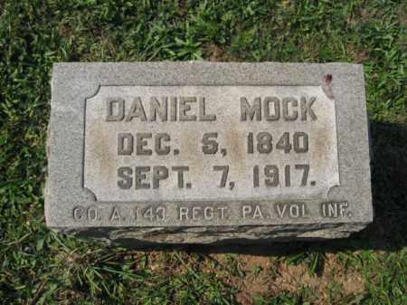 MOCK, DANIEL - Berks County, Pennsylvania | DANIEL MOCK - Pennsylvania Gravestone Photos