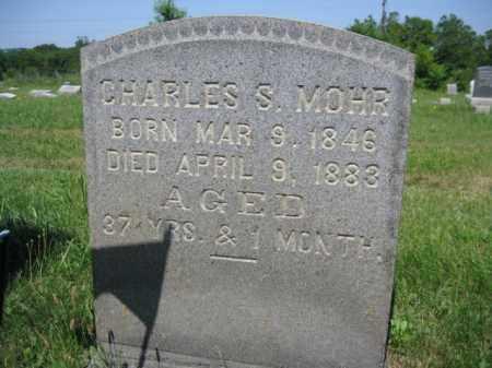 MOHR (CW), CHARLES S. - Berks County, Pennsylvania   CHARLES S. MOHR (CW) - Pennsylvania Gravestone Photos