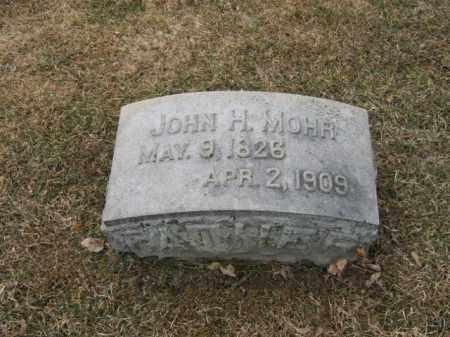 MOHR, JOHN H. - Berks County, Pennsylvania | JOHN H. MOHR - Pennsylvania Gravestone Photos