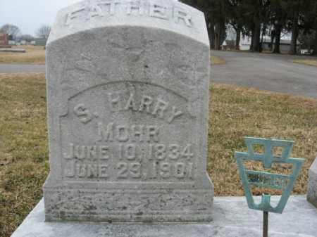MOHR, S.HARRY - Berks County, Pennsylvania | S.HARRY MOHR - Pennsylvania Gravestone Photos
