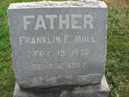 MOLL, FRANKLIN F. - Berks County, Pennsylvania   FRANKLIN F. MOLL - Pennsylvania Gravestone Photos
