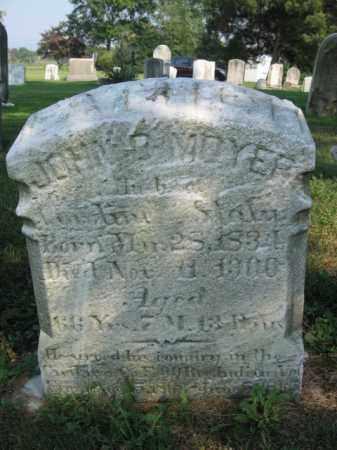 MOYER, JOHN - Berks County, Pennsylvania | JOHN MOYER - Pennsylvania Gravestone Photos