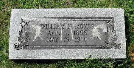 MOYER, WILLIAM H. - Berks County, Pennsylvania   WILLIAM H. MOYER - Pennsylvania Gravestone Photos