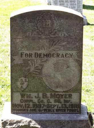 MOYER, WILLIAM J. B. - Berks County, Pennsylvania | WILLIAM J. B. MOYER - Pennsylvania Gravestone Photos