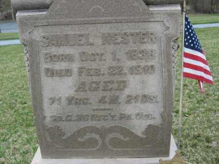 NESTER  (CW), PVT.SAMUEL - Berks County, Pennsylvania | PVT.SAMUEL NESTER  (CW) - Pennsylvania Gravestone Photos