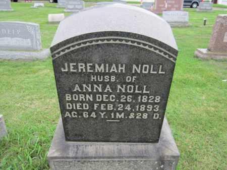 NOLL (CW), JEREMIAH - Berks County, Pennsylvania | JEREMIAH NOLL (CW) - Pennsylvania Gravestone Photos