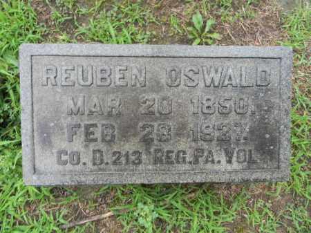 OSWALD (OSWALT) (CW), REUBEN - Berks County, Pennsylvania   REUBEN OSWALD (OSWALT) (CW) - Pennsylvania Gravestone Photos