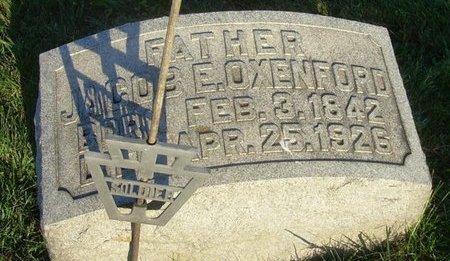 OXENFORD (CW), JACOB E. - Berks County, Pennsylvania | JACOB E. OXENFORD (CW) - Pennsylvania Gravestone Photos