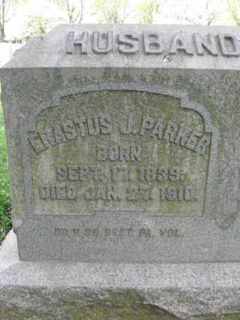 PARKER (CW), ERASTUS (REST) J. - Berks County, Pennsylvania | ERASTUS (REST) J. PARKER (CW) - Pennsylvania Gravestone Photos