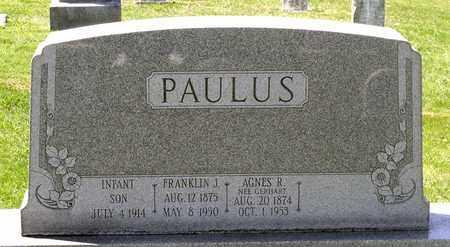 PAULUS, INFANT SON - Berks County, Pennsylvania | INFANT SON PAULUS - Pennsylvania Gravestone Photos