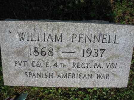 PENNELL (SAW), WILLIAM - Berks County, Pennsylvania   WILLIAM PENNELL (SAW) - Pennsylvania Gravestone Photos
