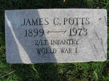 POTTS (WW I), JAMES C. - Berks County, Pennsylvania | JAMES C. POTTS (WW I) - Pennsylvania Gravestone Photos