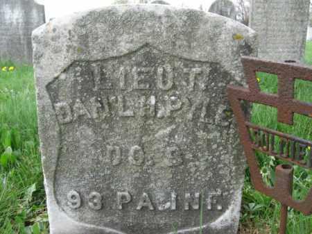 PYLE   (CW), LT.DANIEL H. - Berks County, Pennsylvania | LT.DANIEL H. PYLE   (CW) - Pennsylvania Gravestone Photos