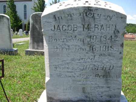 RAHN (CW), JACOB M. - Berks County, Pennsylvania | JACOB M. RAHN (CW) - Pennsylvania Gravestone Photos