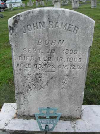 RAMER, JOHN - Berks County, Pennsylvania | JOHN RAMER - Pennsylvania Gravestone Photos