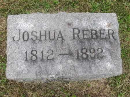 REBER, JOSHUA - Berks County, Pennsylvania | JOSHUA REBER - Pennsylvania Gravestone Photos