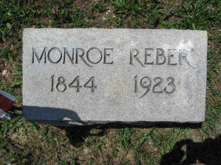 REBER, MONROE - Berks County, Pennsylvania | MONROE REBER - Pennsylvania Gravestone Photos