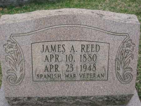 REED, JAMES A. - Berks County, Pennsylvania   JAMES A. REED - Pennsylvania Gravestone Photos