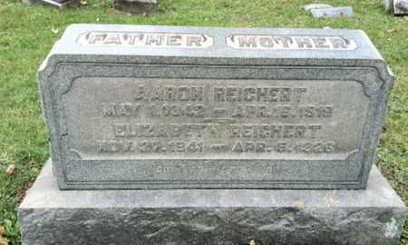 REICHERT (CW), AARON - Berks County, Pennsylvania | AARON REICHERT (CW) - Pennsylvania Gravestone Photos