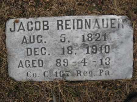 REIDNAUER (REIDENHOUR) (CW), JACOB - Berks County, Pennsylvania | JACOB REIDNAUER (REIDENHOUR) (CW) - Pennsylvania Gravestone Photos