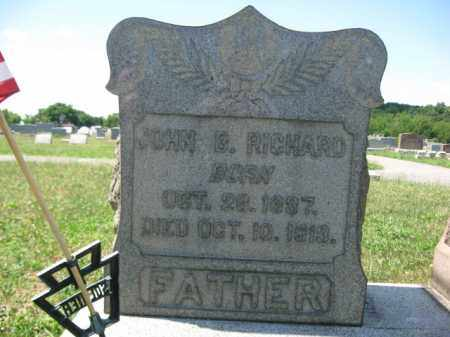 RICHARD (CW), JOHN B. - Berks County, Pennsylvania | JOHN B. RICHARD (CW) - Pennsylvania Gravestone Photos