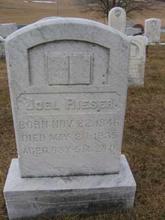 RIESER, JOEL - Berks County, Pennsylvania | JOEL RIESER - Pennsylvania Gravestone Photos