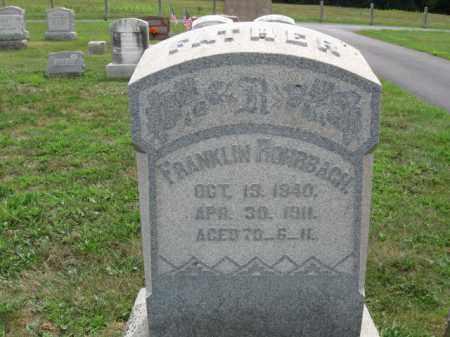 ROMBBACH, FRANKLIN - Berks County, Pennsylvania | FRANKLIN ROMBBACH - Pennsylvania Gravestone Photos