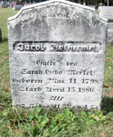 ROTHERMEL, JACOB - Berks County, Pennsylvania | JACOB ROTHERMEL - Pennsylvania Gravestone Photos