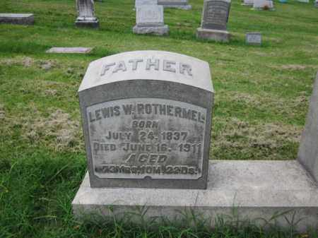 ROTHERMEL, LEWIS - Berks County, Pennsylvania | LEWIS ROTHERMEL - Pennsylvania Gravestone Photos