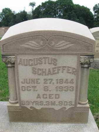 SCHAEFER (CW), AUGUSTUS - Berks County, Pennsylvania | AUGUSTUS SCHAEFER (CW) - Pennsylvania Gravestone Photos