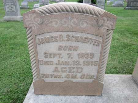 SCHAEFFER, JAMES B. - Berks County, Pennsylvania | JAMES B. SCHAEFFER - Pennsylvania Gravestone Photos